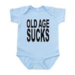 oldagesucks.png Infant Bodysuit
