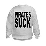 piratessuck.png Kids Sweatshirt