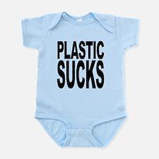 plasticsucksblk.png Infant Bodysuit