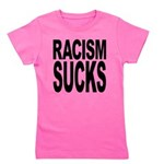 Racism Sucks Girl's Tee