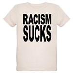 Racism Sucks Organic Kids T-Shirt