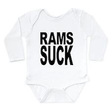 ramssuck.png Long Sleeve Infant Bodysuit