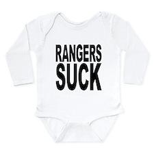 rangerssuck.png Long Sleeve Infant Bodysuit