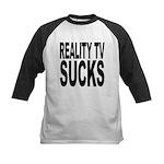realitytvsucks.png Kids Baseball Jersey