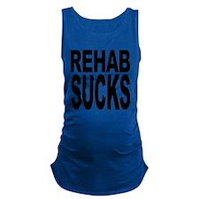 rehabsucks.png Maternity Tank Top