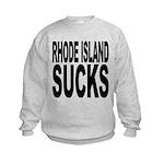 rhodeislandsucks.png Kids Sweatshirt