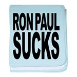 ronpaulsucksblk.png baby blanket