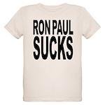 ronpaulsucksblk.png Organic Kids T-Shirt