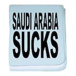 saudiarabiasucks.png baby blanket