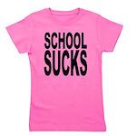 schoolsucksblk.png Girl's Tee