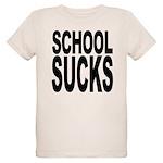 schoolsucksblk.png Organic Kids T-Shirt