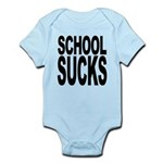 schoolsucksblk.png Infant Bodysuit