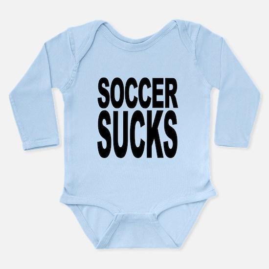 soccersucks.png Long Sleeve Infant Bodysuit
