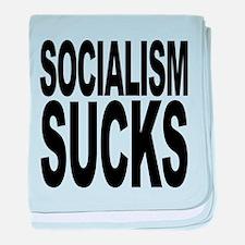 socialismsucks.png baby blanket