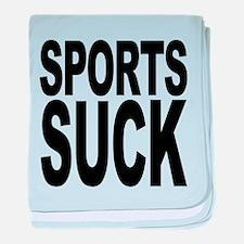sportssuck.png baby blanket