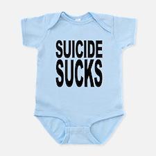 suicidesucks.png Infant Bodysuit