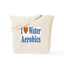 Cool Water aerobics Tote Bag