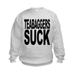 teabaggerssuck.png Kids Sweatshirt