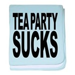 teapartysucks.png baby blanket