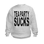 teapartysucks.png Kids Sweatshirt