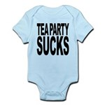 teapartysucks.png Infant Bodysuit