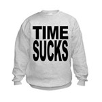 timesucks.png Kids Sweatshirt