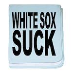 whitesoxsuck.png baby blanket