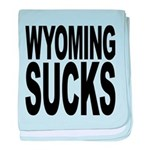 wyomingsucks.png baby blanket