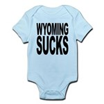 wyomingsucks.png Infant Bodysuit