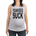 yankeessuckblk.png Maternity Tank Top