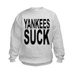 yankeessuckblk.png Kids Sweatshirt