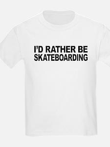 mssidratherbeskateboarding.png T-Shirt