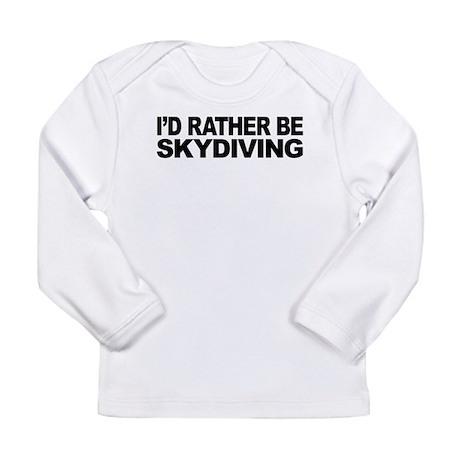 mssidratherbeskydiving.png Long Sleeve Infant T-Sh