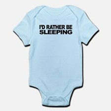 mssidratherbesleeping.png Infant Bodysuit