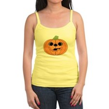 Halloween Carved Pumpkin Tank Top