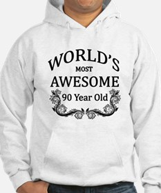 World's Most Awesome 90 Year Old Hoodie