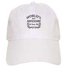 World's Most Awesome 90 Year Old Baseball Cap