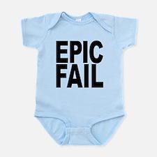 epicfailblk.png Infant Bodysuit
