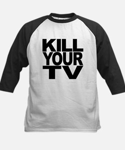 killyourtvblk.png Tee
