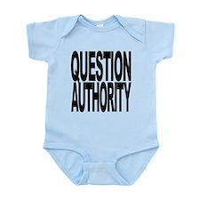 questionauthorityblockblk.png Infant Bodysuit