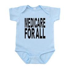 medicareforallblk.png Infant Bodysuit