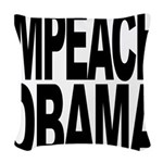 impeachobama.png Woven Throw Pillow