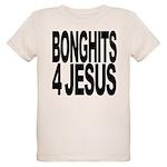 bonghits4jesusblk.png Organic Kids T-Shirt