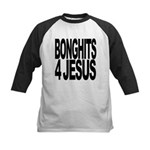 bonghits4jesusblk.png Kids Baseball Jersey