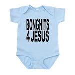 bonghits4jesusblk.png Infant Bodysuit