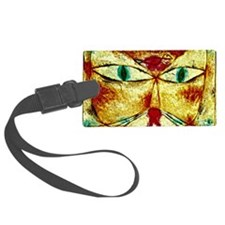Cat and Bird, Paul Klee painting Luggage Tag