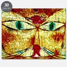Cat and Bird, Paul Klee painting Puzzle