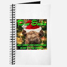 Dear Santa Hump Day Camel Joy to the World Journal