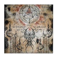 The Elder Sign Tile Coaster