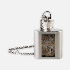 The Elder Sign Flask Necklace